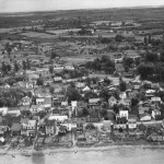Aerial View of Kahnawà:ke 1949